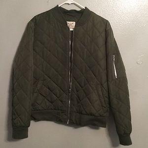 (New)Army Green Bomber jacket